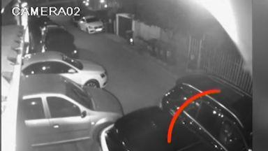 Откраднаха коли за над 300 000 лв. от паркинг на столичен хотел (видео)