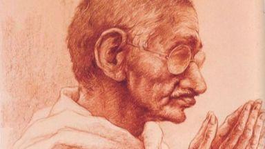 Уникална експозиция, посветена на Махатма Ганди, бе открита на Оборище 5