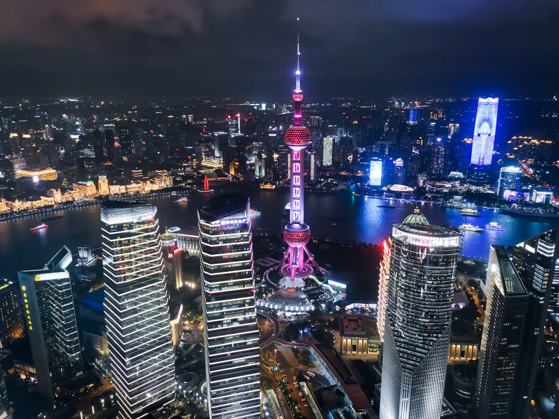 Нощна снимка, направена с Huawei Mate 30 Pro