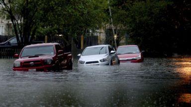 Тропическата буря  Имелда взе първа  жертва в Хюстън