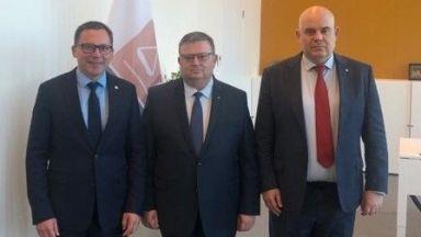 Цацаров и Гешев се срещнаха в Хага с президента на Евроджъст