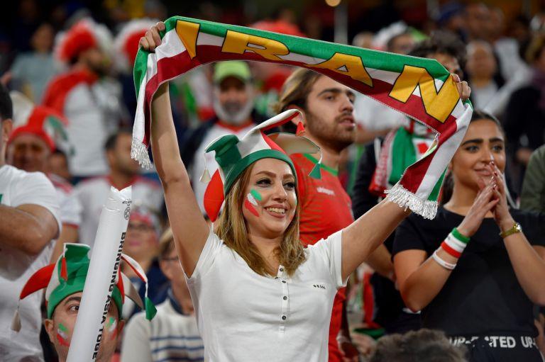 Иранска фенка на Мондиал 2018