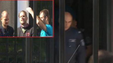 Полфрийман излезе от затвора , отведоха го миграционните власти