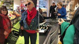 Нона Йотова и Маргарита Петкова пазаруваха с Ангела Меркел в Берлин (снимки)