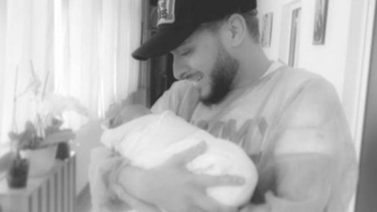 Криско стана татко за първи път