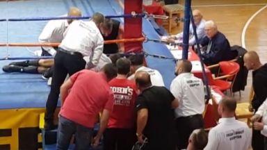 Български боксьор загина на ринга (видео)