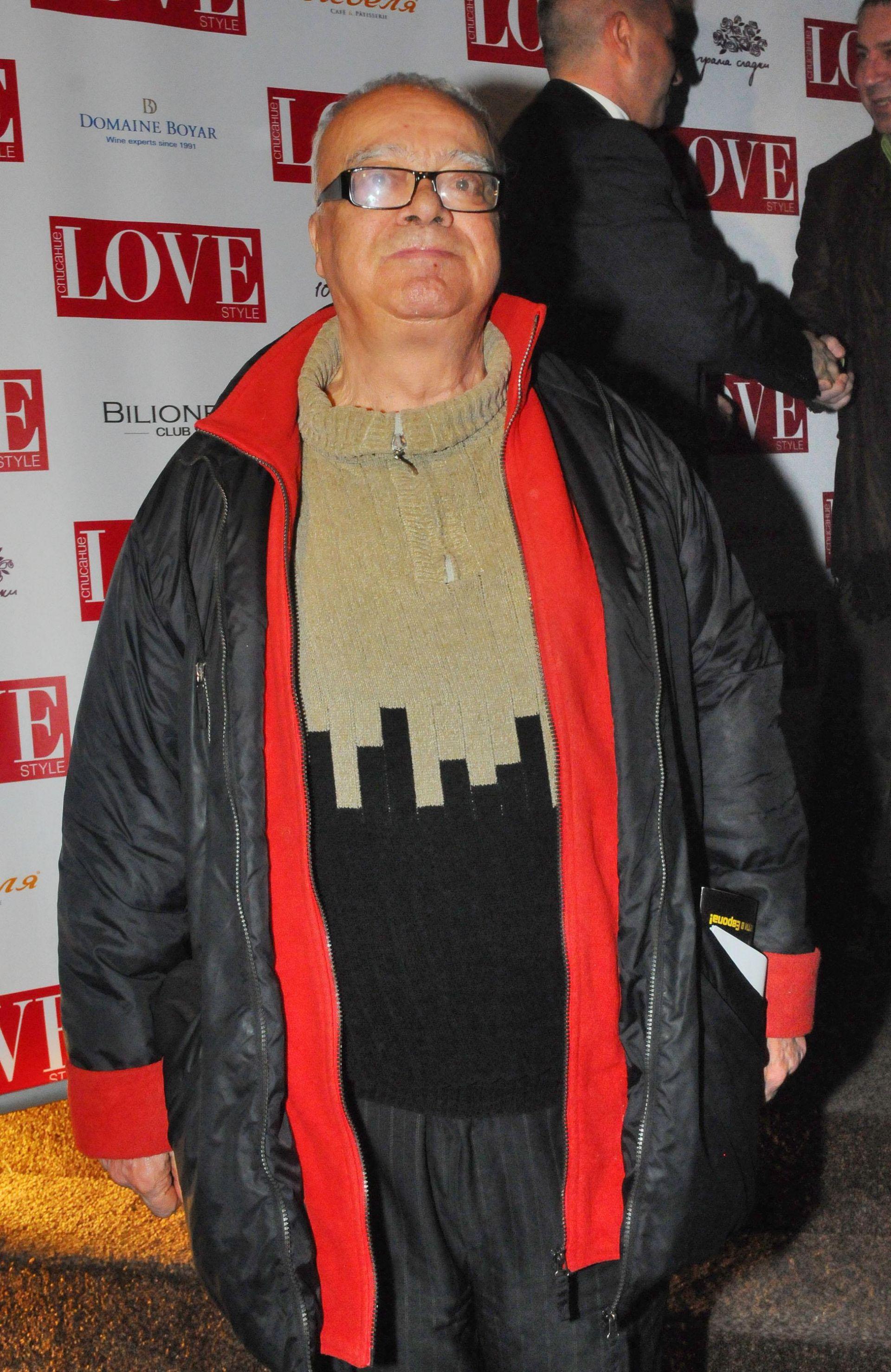 13 февруари 2013 г. - Проф. Вучков е специален гост на първия рожден ден на списание Love Style