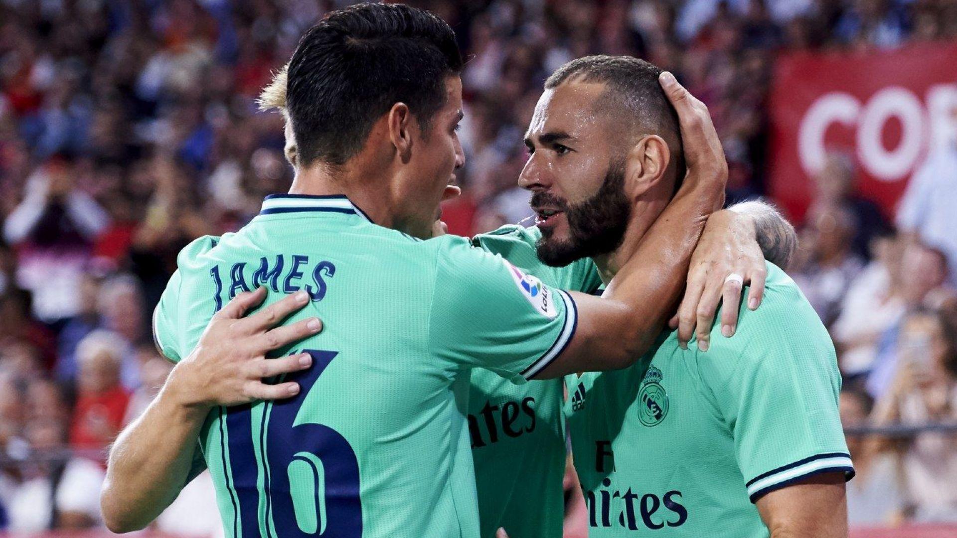 Реал се съвзе от шока с успех в Севиля