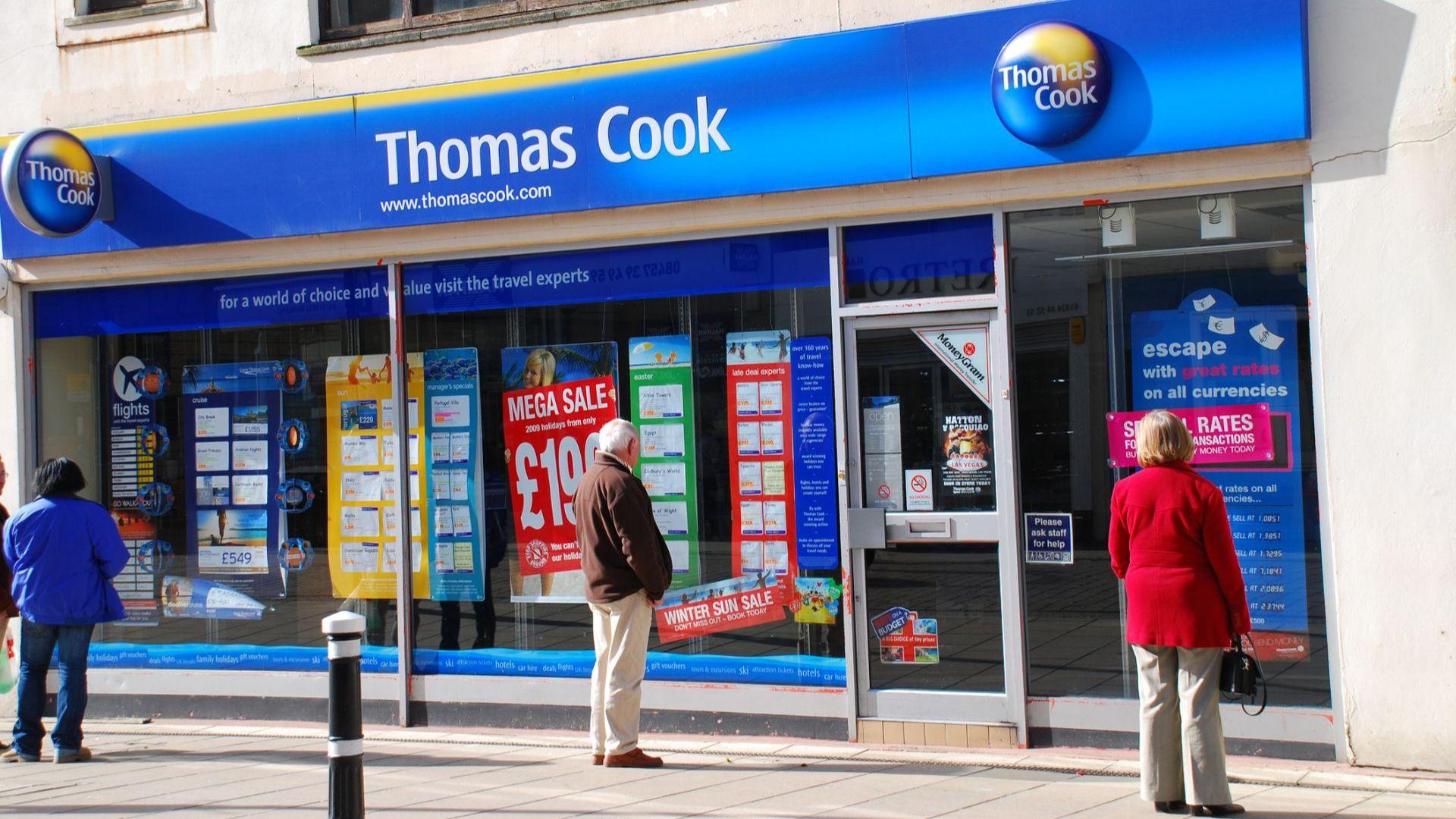 Британецът Томас Кук изгуби сватбено парти заради фалита на туроператора