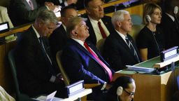 Тръмп изненадващо се появи на срещата на ООН за климата, Блумбърг се заяде с него