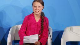 Грета Тунберг гневна към световните лидери: Откраднахте детството и мечтите ми!