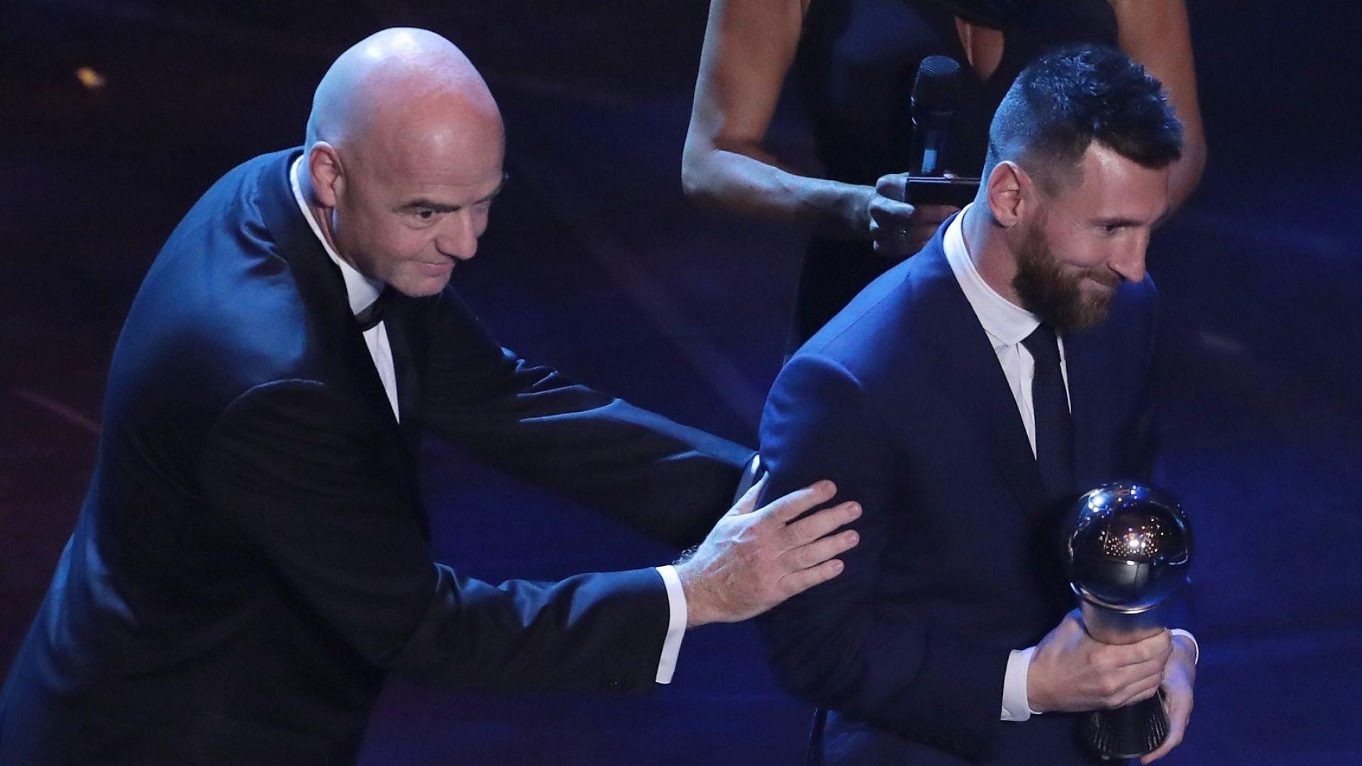 Три страни обвиниха ФИФА във фалшифициране на вота за Меси