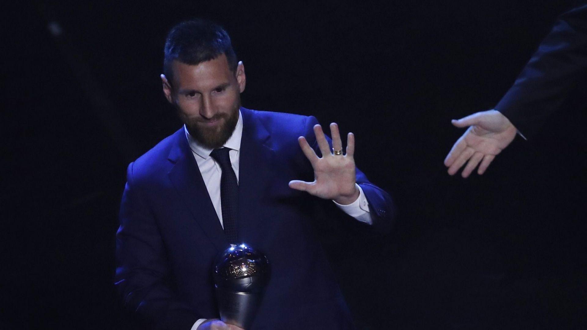 Геният Лео Меси е играч №1 на ФИФА