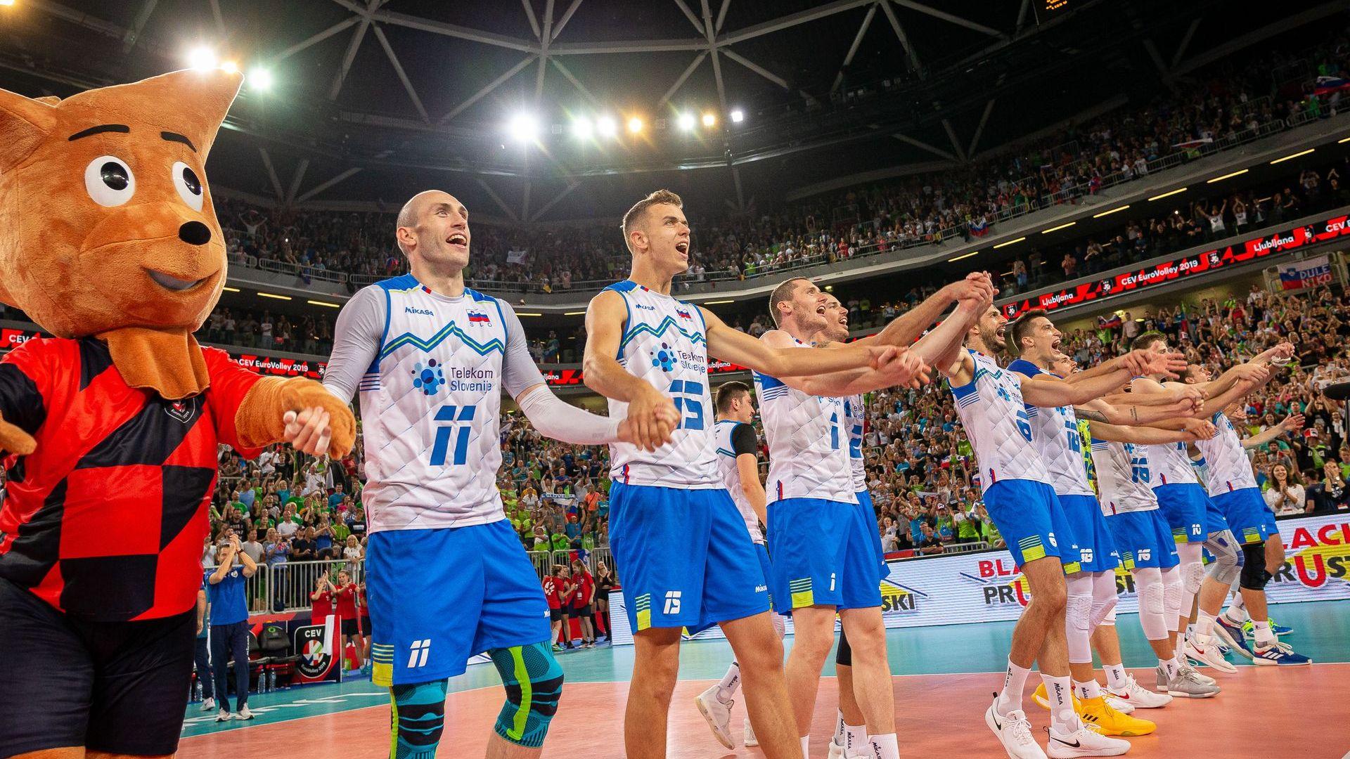 Словенското торнадо отнесе и шампиона на Евроволей