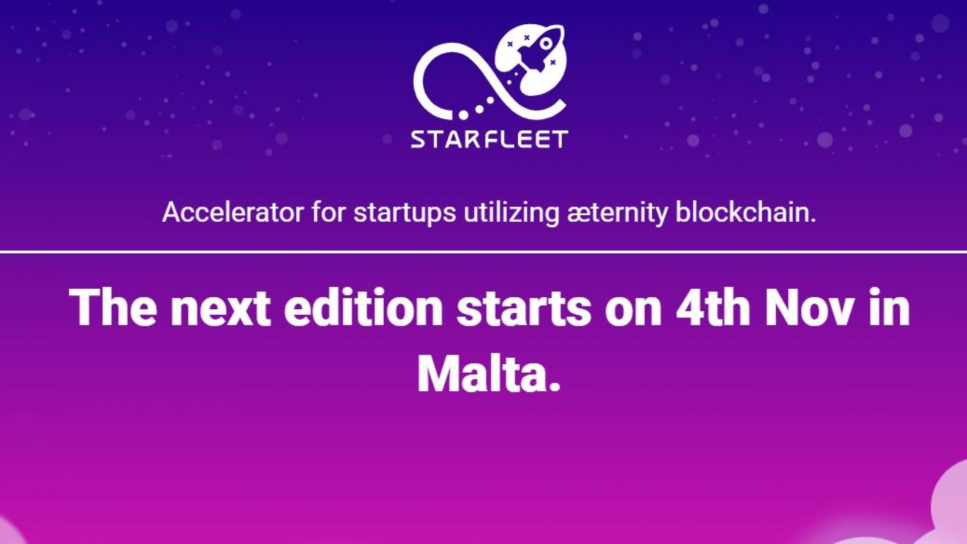 Стартира кандидатстването за третото издание на акселератора Starfleet на AE Ventures в Малта