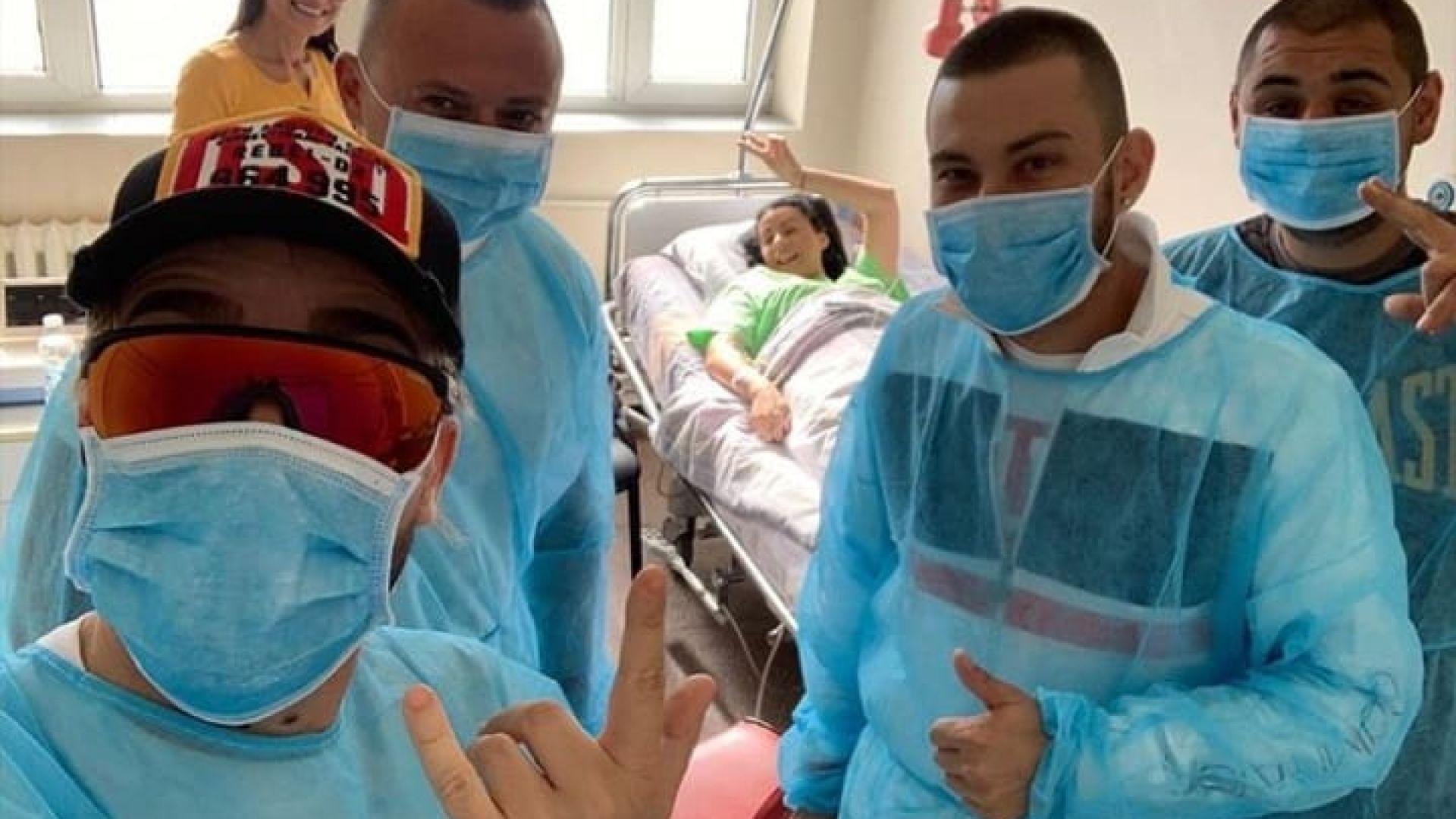 Цвети на Криско пусна непоказвана снимка от болницата