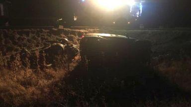 """Един починал и двама тежко ранени при две катастрофи на магистрала """"Струма"""""""