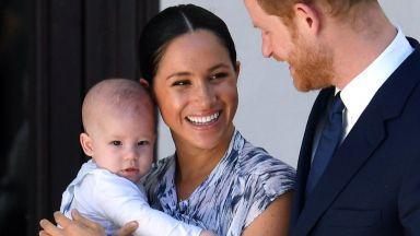 Меган и Хари отбелязаха първия рожден ден на сина си с видео