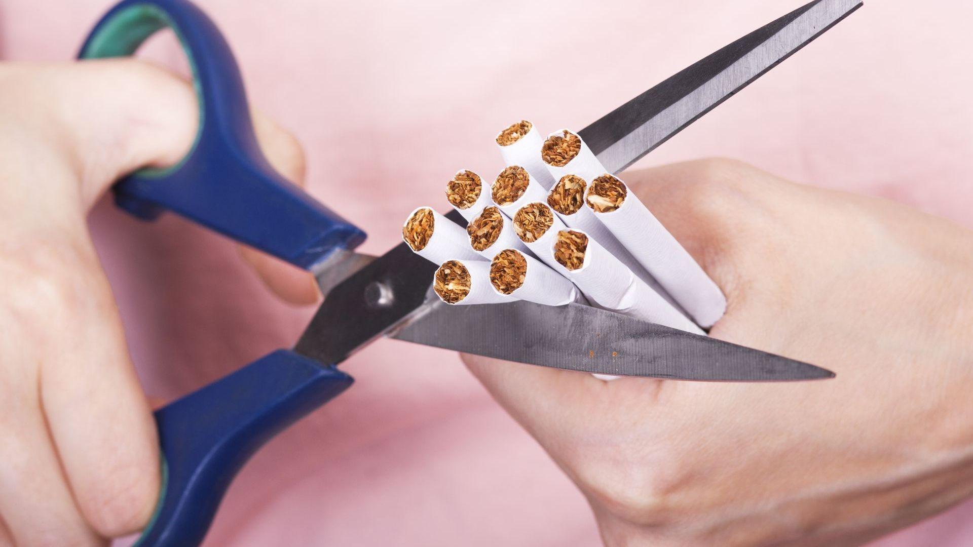 Спирането на цигарите намалява риска от белодробни заболявания