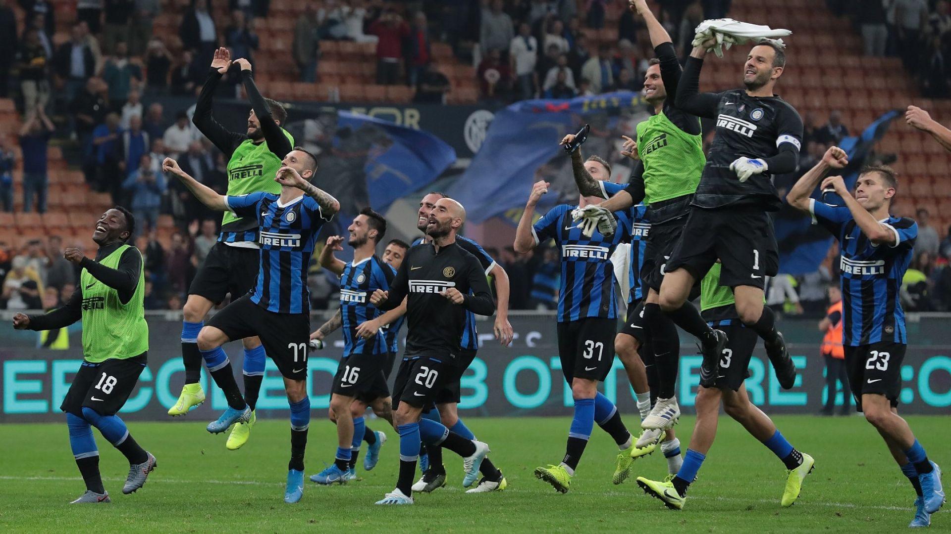 Отличен 5: Интер на Конте удари и Лацио, вече мечтае за титлата (резултати)