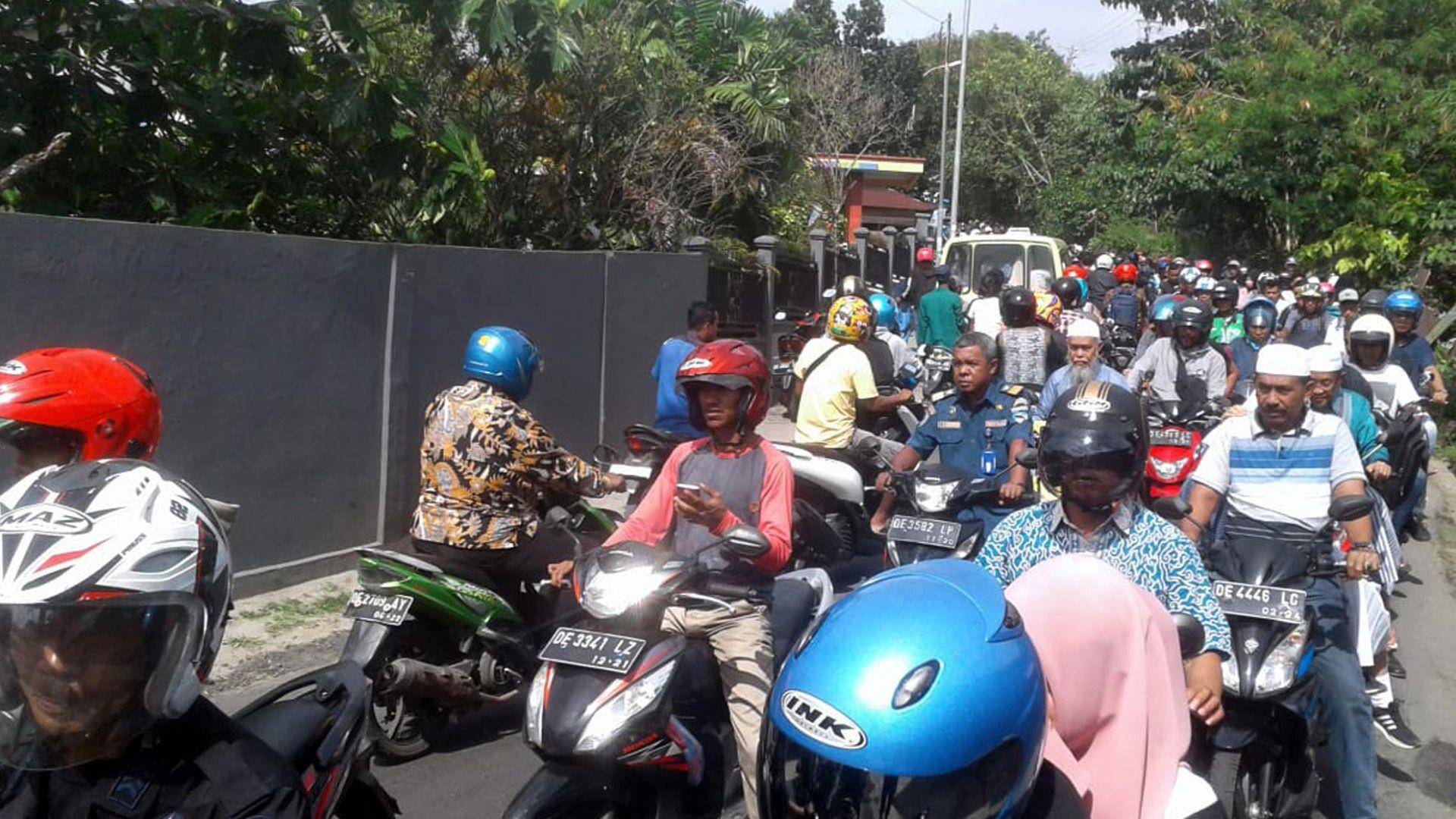6,5 по Рихтер разтърси Индонезия (видео)