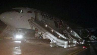 56 души пострадаха при аварийно кацане на самолет в Алтайския край (видео)