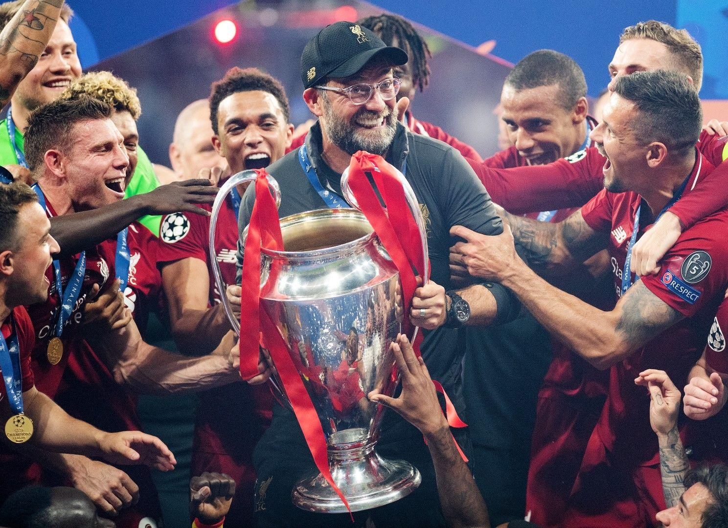 1 юни 2019 г. - Клоп и Ливърпул са шампиони на Европа