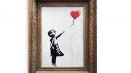 """Репродукция на """"Момиче с балон"""" на Банкси беше продадена за почти $500 000"""