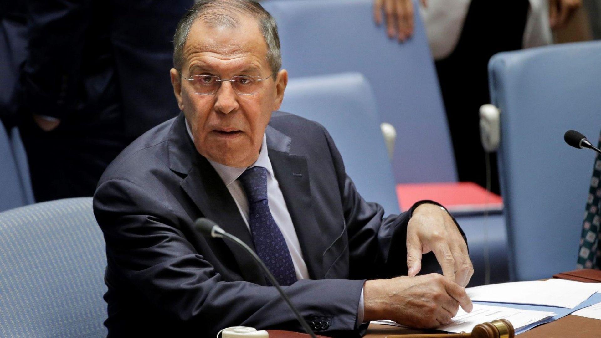 Министърът на външните работи Сергей Лавров ще посети България през