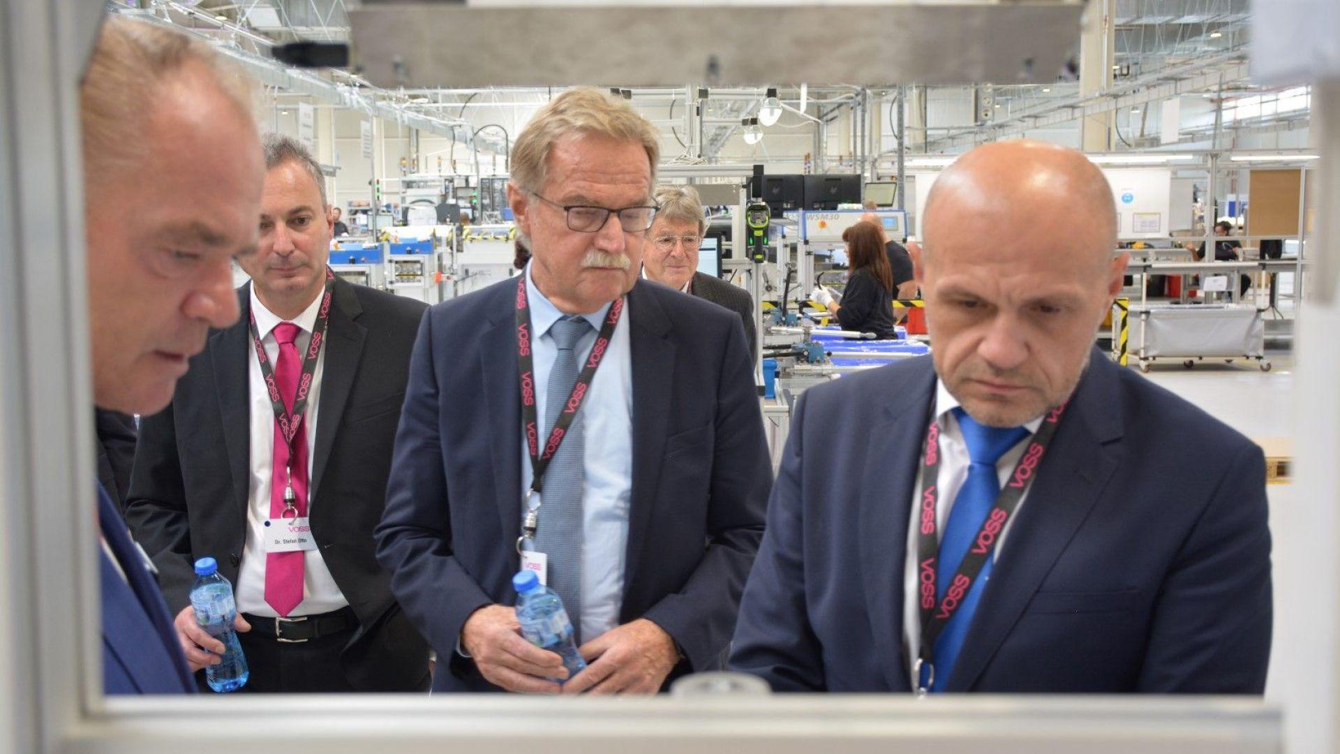 VOSS Automotive откри официално завода си в ловешкото село Баховица