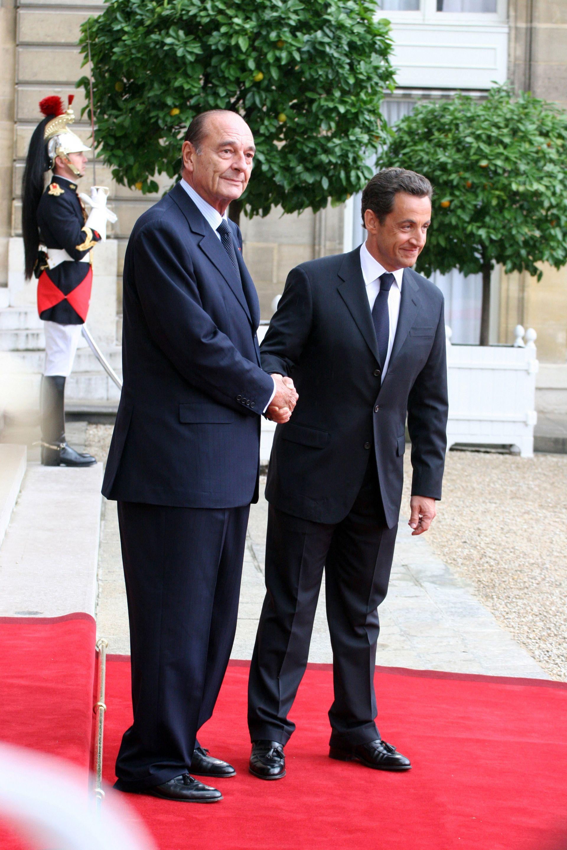 Жак Ширак с Никола Саркози