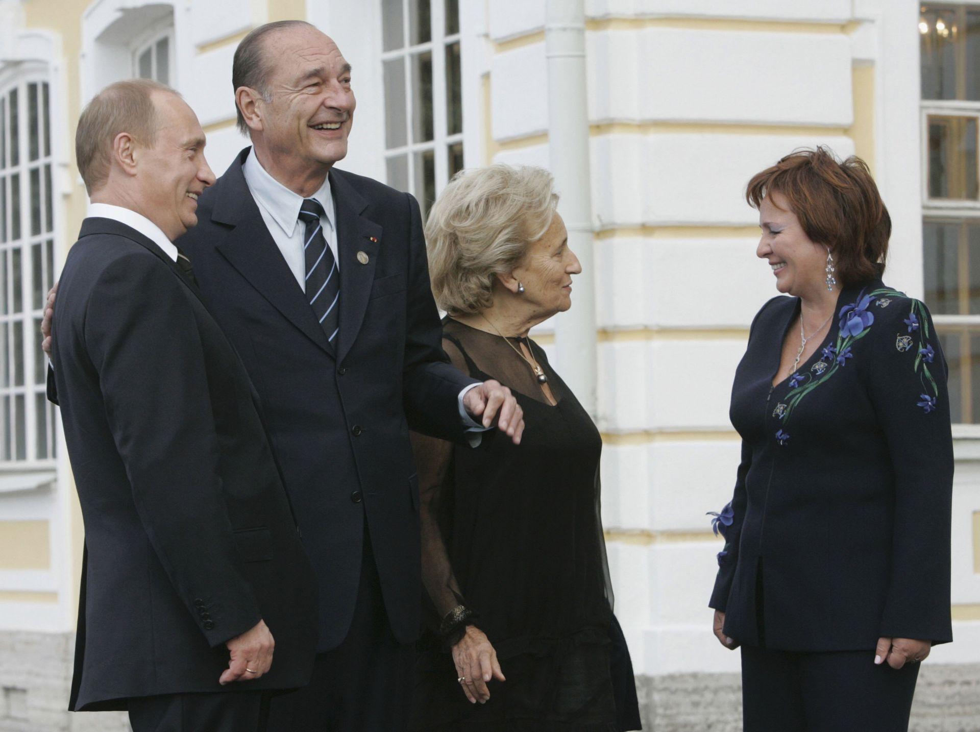 Путин се възхищаваше на Ширак