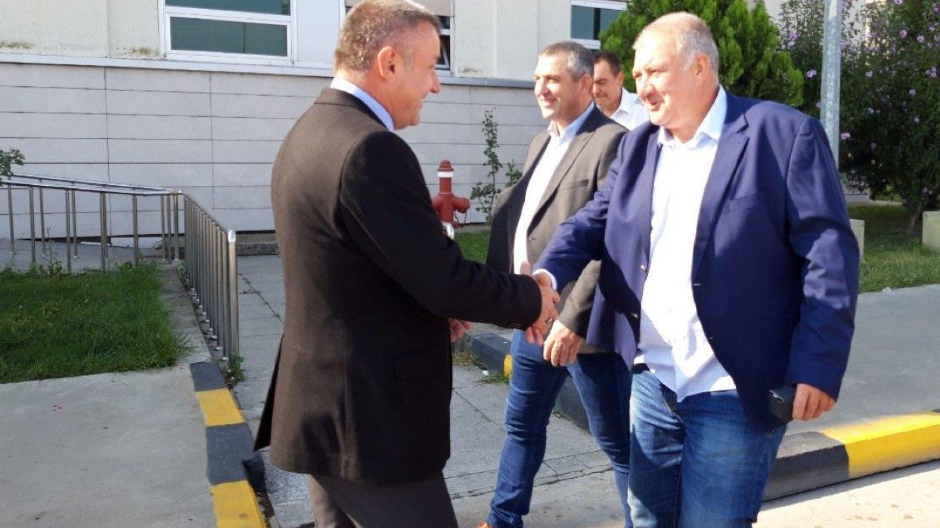 Мерки за ускоряване на обработката на камиони  договориха българските и турските гранични власти
