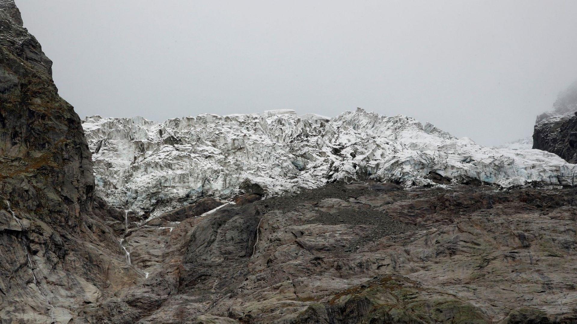 Радар ще следи разцепен ледник в Алпите