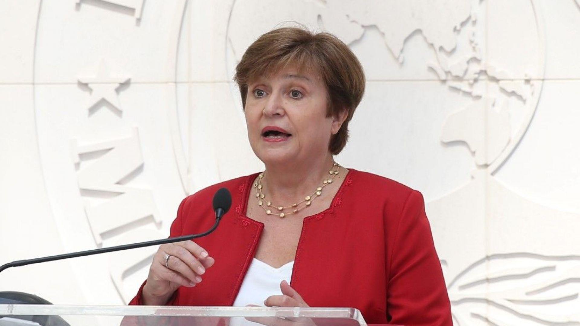 Кристалина Георгиева се срещна с аржентински министър  на фона на кризата