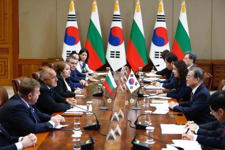 Българската и корейската делегации разговарят в Сеул