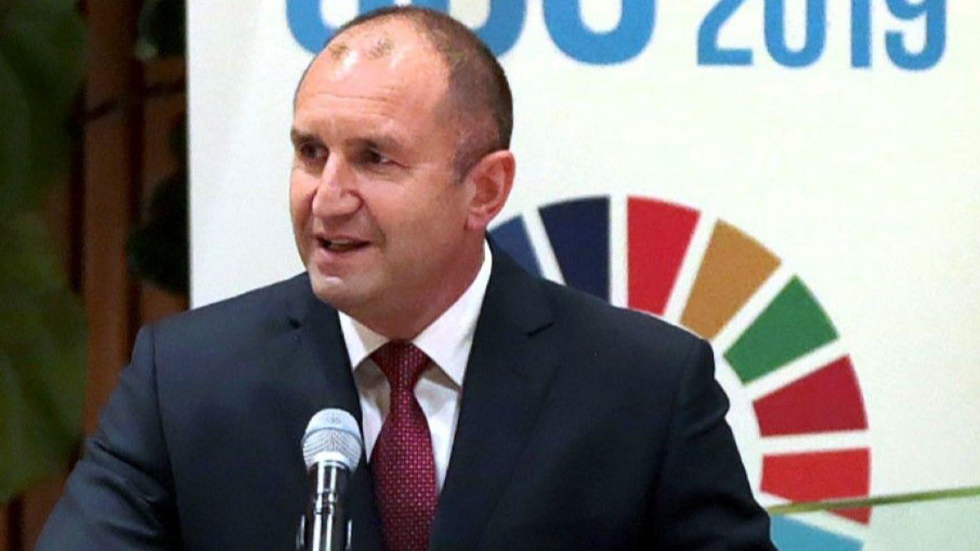 Президентът Радев: Има необходимост от масов спорт от ранна възраст