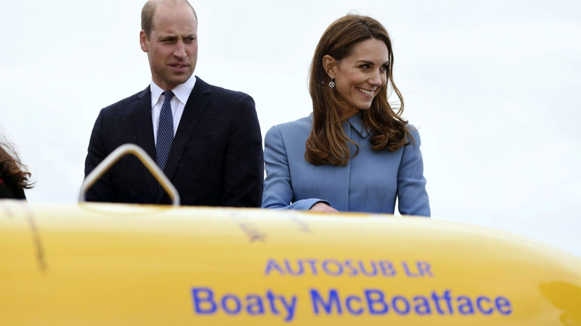 Кейт и Уилям кръстиха полярен изследователски кораб на Дейвид Атънбъро