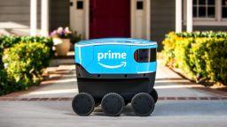 Amazon започна доставки с роботи в Джорджия и Тенеси