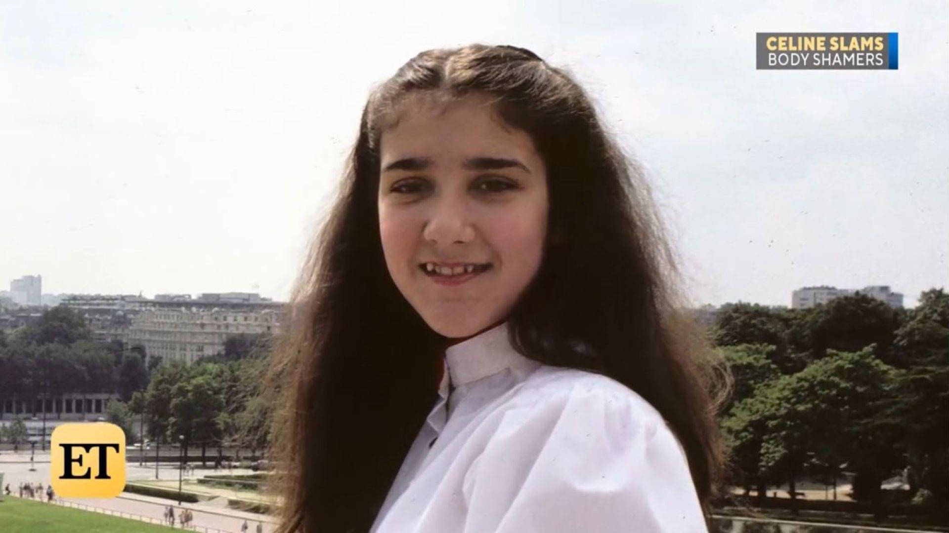 Селин Дион в тийнейджърските си години