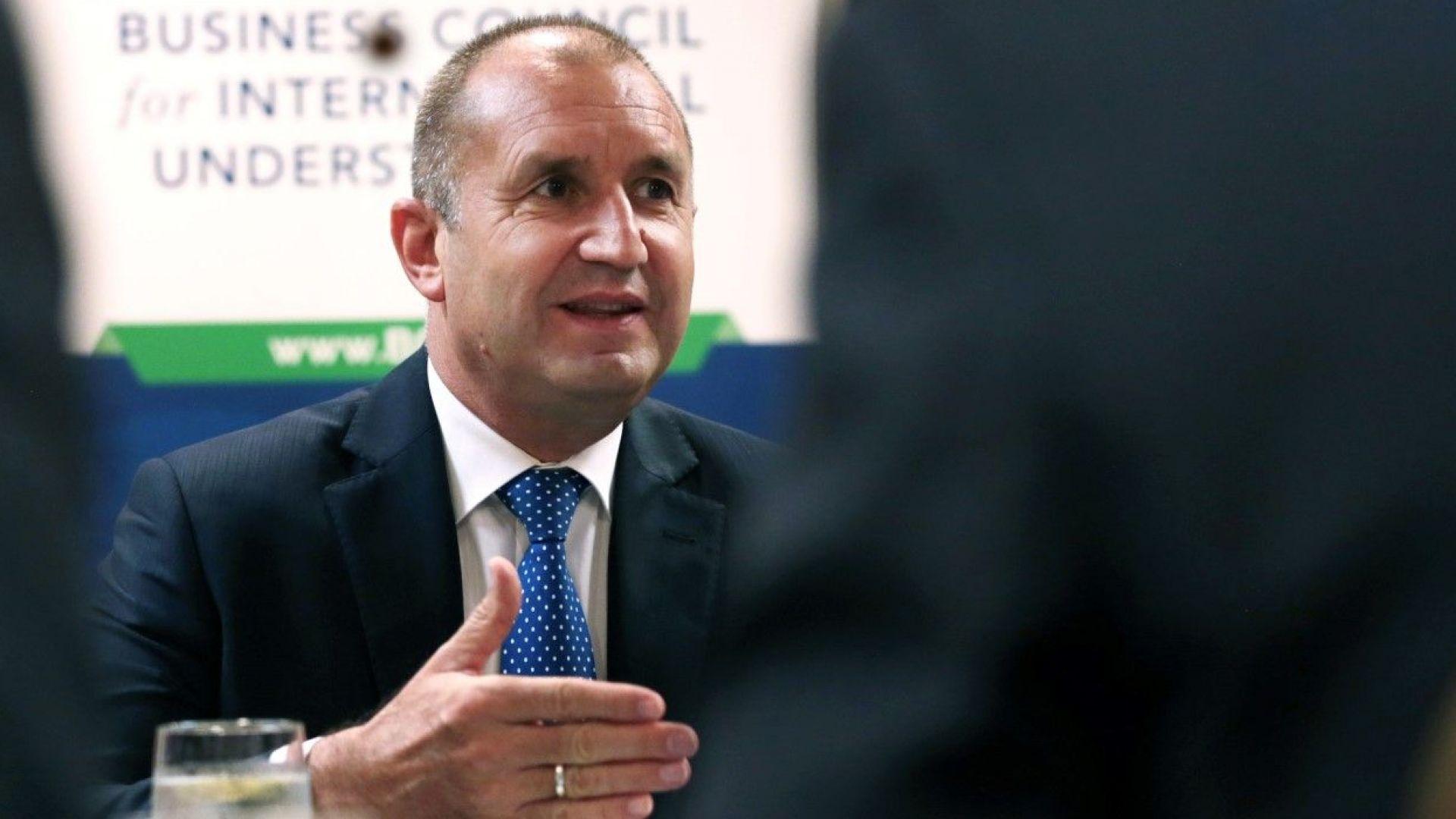 Румен Радев се срещна с US гиганти и ги прикани да инвестират в България