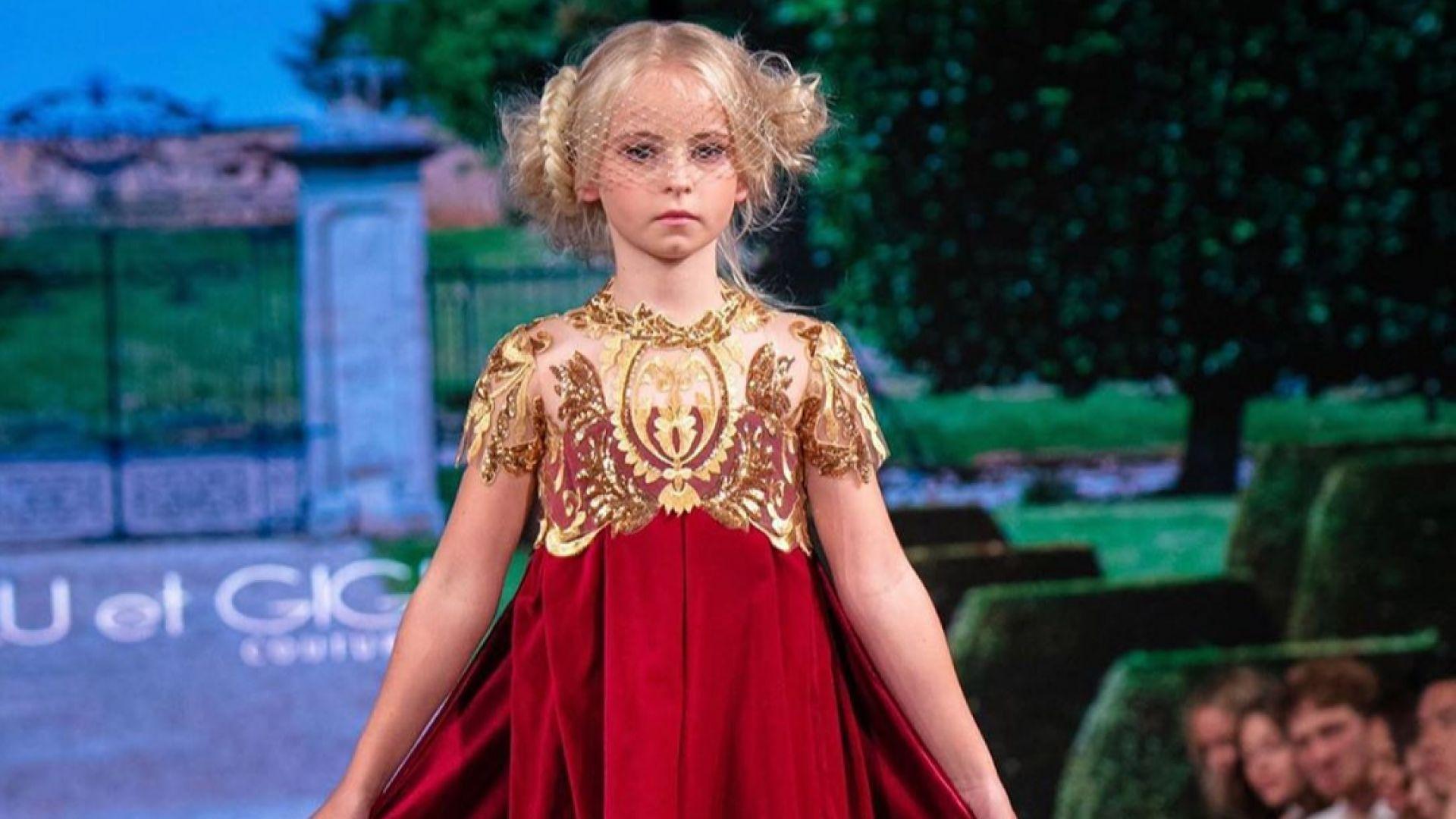 9-годишно момиче с ампутирани крака ще дефилира на Парижката седмица на модата