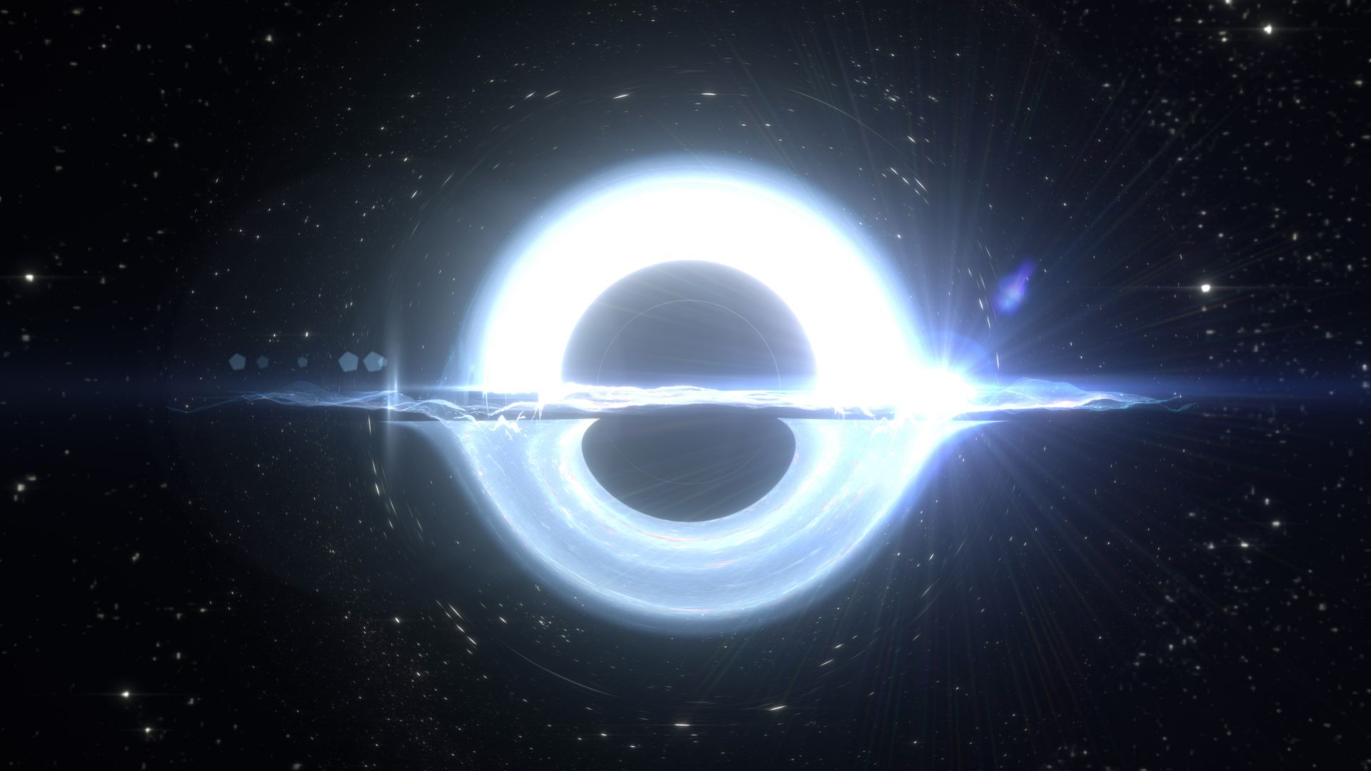 Калкулатор изчислява какво ще стане, ако се сблъскаме с черна дупка