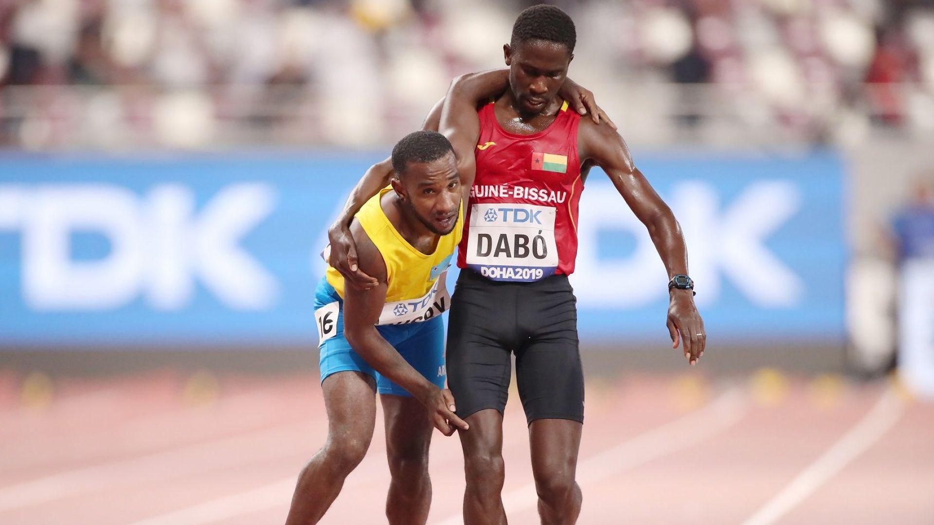 Невероятен жест на човечност по време на Световното по лека атлетика