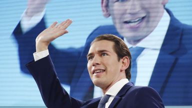 Консерваторите на Себастиан Курц печелят парламентарните избори в Австрия