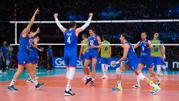 Сърбия е заслужилият европейски крал във волейбола