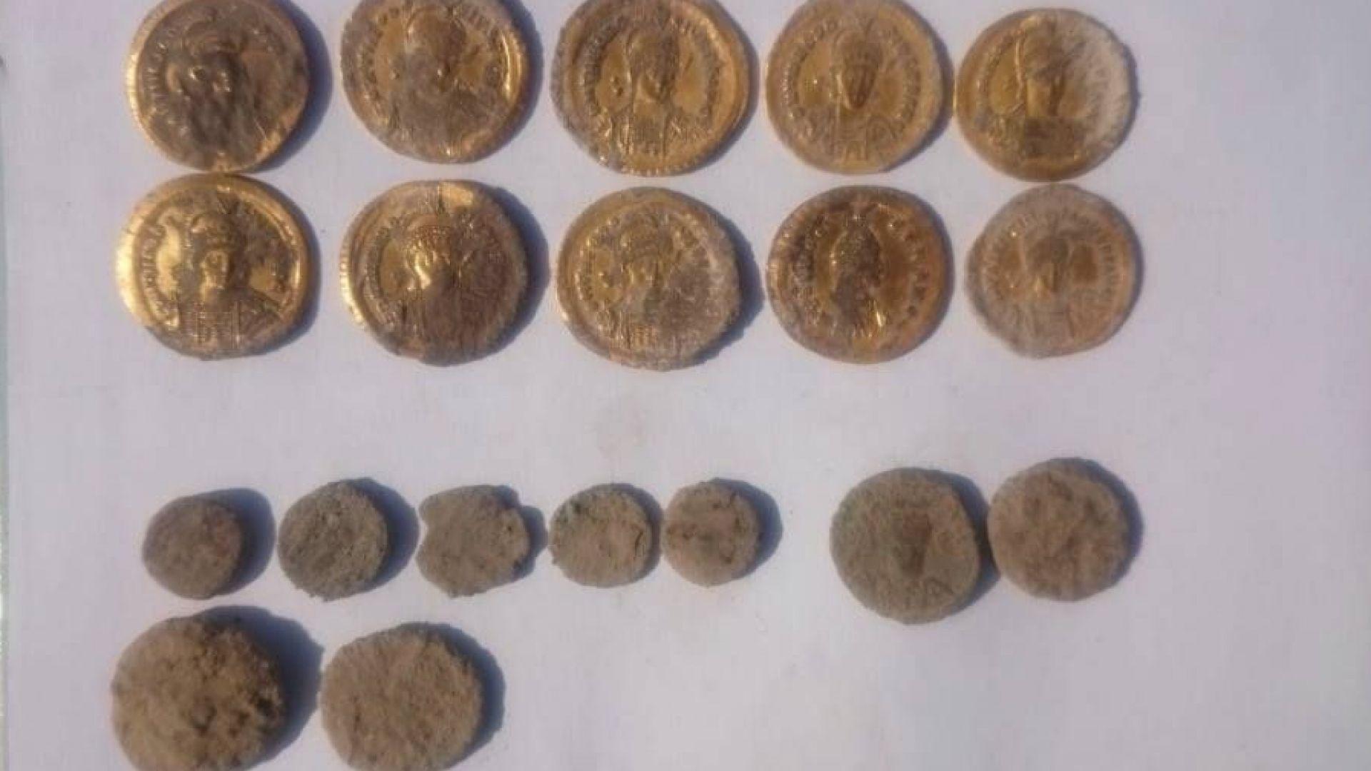 Археолози откриха златно съкровище в Девня (снимки)