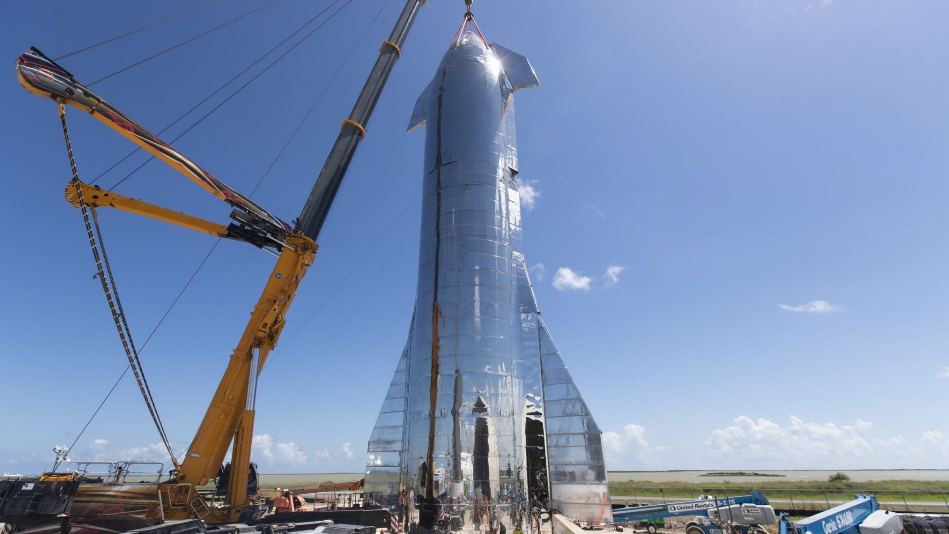 """Новият прототип на """"марсианската ракета"""" на Мъск е готов за полет"""