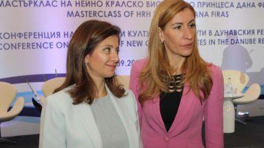 Принцеса Дана Фирас: Визитата ми в България е нещо специално за мен