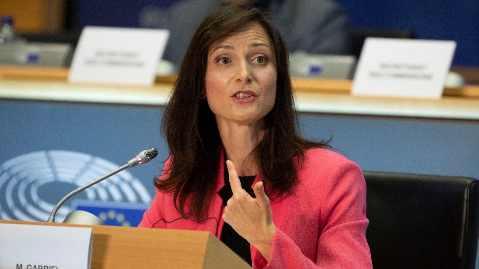 Мария Габриел получава пълна подкрепа за втори мандат като еврокомисар